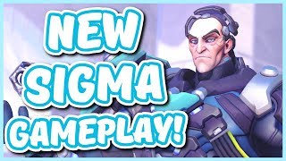 Overwatch - NEW SIGMA GAMEPLAY (Sigma's Ultimate and Abilities!)