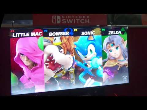 Zürich game show Smash bros Ultimate gameplay part 1