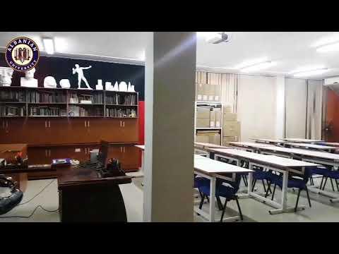 Printmaking Laboratory at Albanian University -Tirana #1