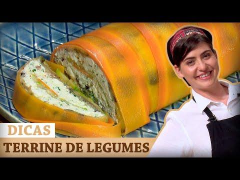 TERRINE DE LEGUMES Com Izabel | DICAS MASTERCHEF