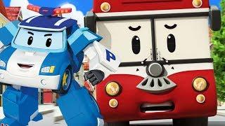 Çizgifilm Robocar Poli. Trafik kuralları