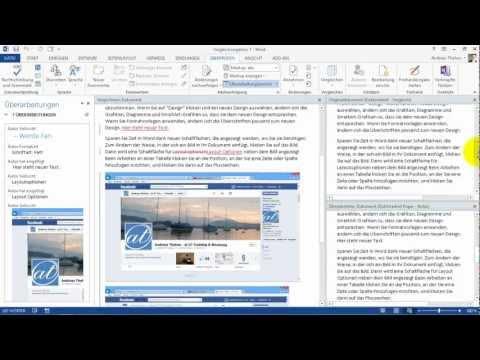 Word 2013 - Dokumente vergleichen - nachträglich Änderungen erkennen