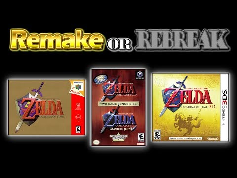 ROR: The Legend Of Zelda Ocarina Of Time (N64 Vs. GCN Vs. 3DS)