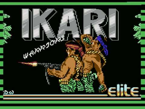 c64 music: Elite Loader & Ikari Warriors by M. Cooksey & J. Brooke