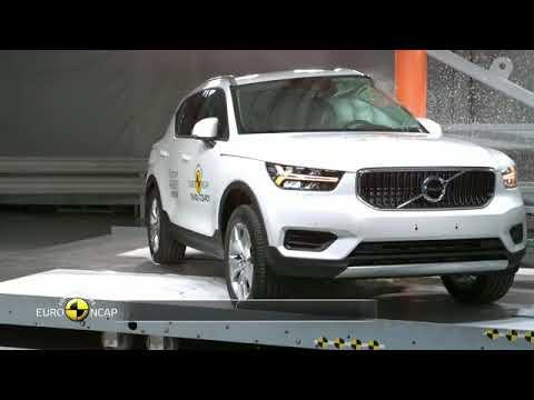 Le Volvo XC40 Obtient Cinq étoiles Aux Crash-tests Euro NCAP