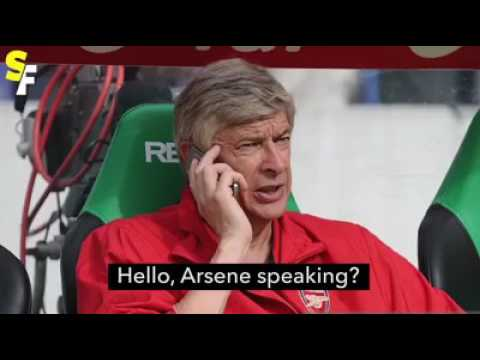 Jose Mourinho calls Arsene Wenger to congrats him for staying at Arsenal for 2 years more. | Funny
