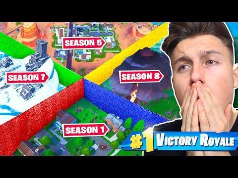 *NEU* Season 1 vs Season 8 The Walls Modus in FORTNITE!
