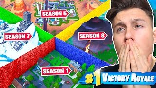 *NEU* Season 1 vs Season 8 The Walls Modus in FORTNITE!