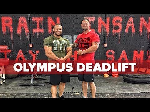COMPLETE 2017 Olympus Deadlift Event