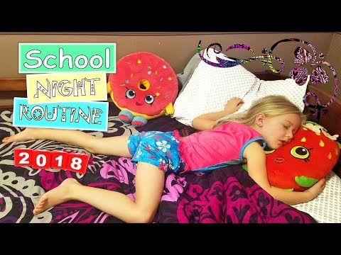 School Night Time Routine 2018   Trinity and Beyond