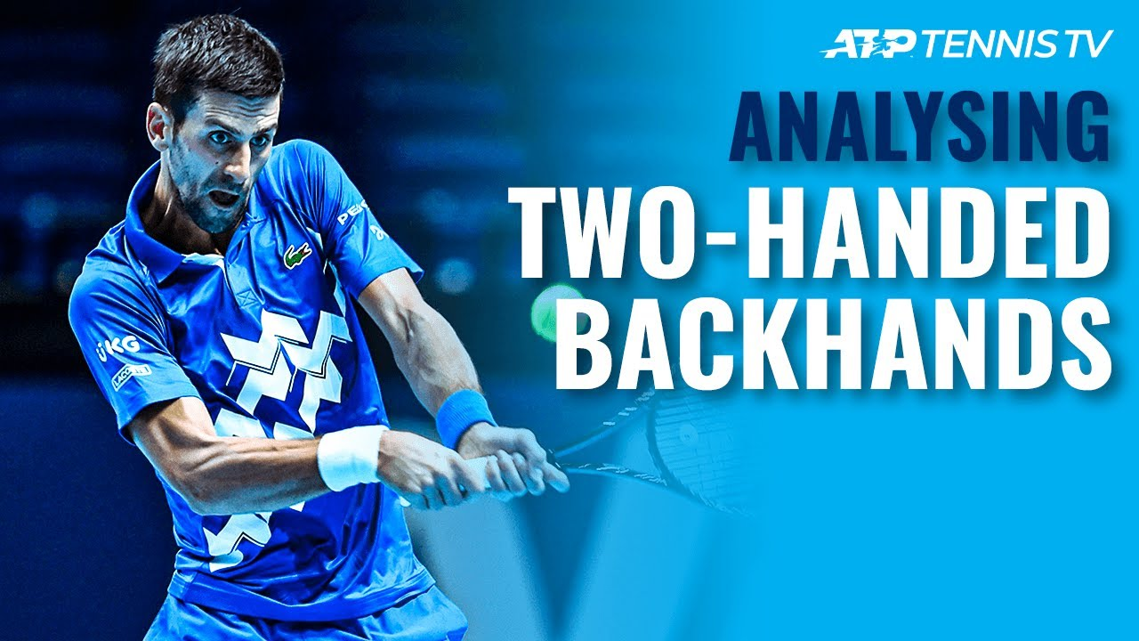 Analysing ATP Tennis Players' Two-Handed Backhands! 🧐