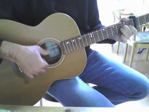 Rive gauche - reprise (guitar cover tab)