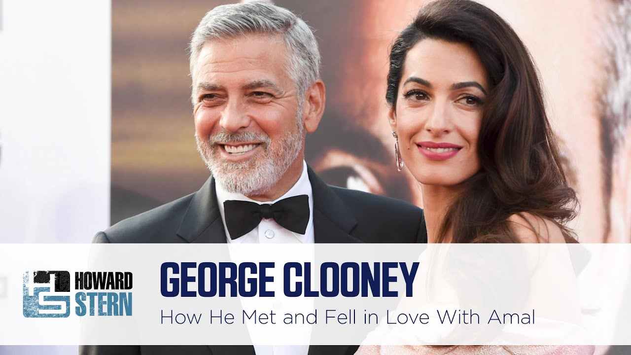 George Clooney Tells How He Met Amal and Fell in Love