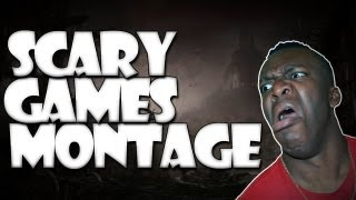 SCARY GAMES MONTAGE (JUMPSCARES)