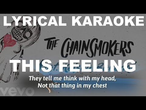 This Feeling Karaoke | The Chainsmokers - ft. Kelsea Ballerini Instrumental | KRS