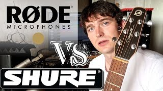 Rode NT5 vs Shure SM81 on Acoustic Guitar