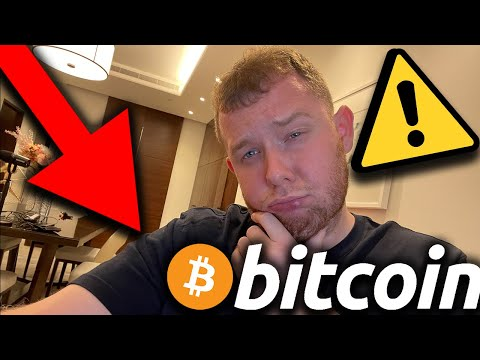 🤬 BITCOIN!!!!!!! MY BIGGEST FEAR MAY COME TRUE!!!! LOOK AT T