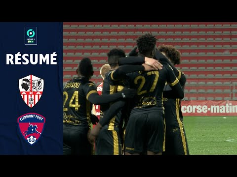 AC Ajaccio Clermont Goals And Highlights