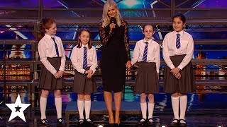 School Choir Take on The Musical MATILDA on Britain's Got Talent 2020 | Got Talent Global