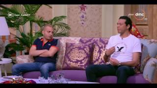 السفيرة عزيزة - الفنان / حمزة العيلي ... يتحدث عن دوره في مسلسل ليلة وأصعب أنواع التمثيل