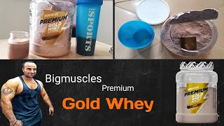 Bigmuscles Nutrition Premium Whey Gold Whey Protein concentrate and isolate review | Punjab Muscle