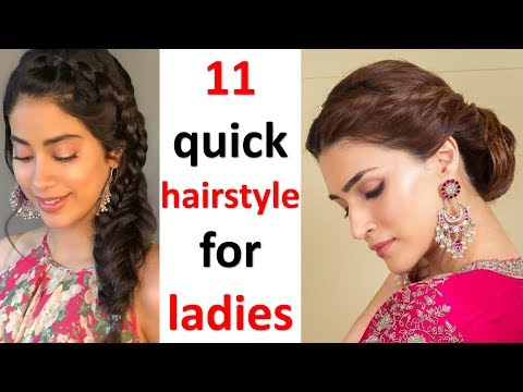 11-simple-hairstyle-for-ladies-||-cute-hairstyle-||-simple-hairstyle-||-clutcher-hairstyle