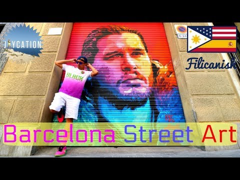 STREET ART IN BARCELONA | GRAFFITI IN VILLA DE GRACIA