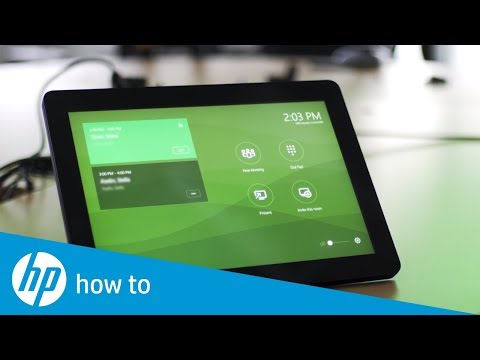 Using The Center Room Control- Slice For Meeting Rooms G2 | HP Elite Slice G2 | HP