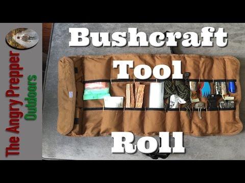 DIY: Bushcraft Tool Roll for Modern Day Woodsman