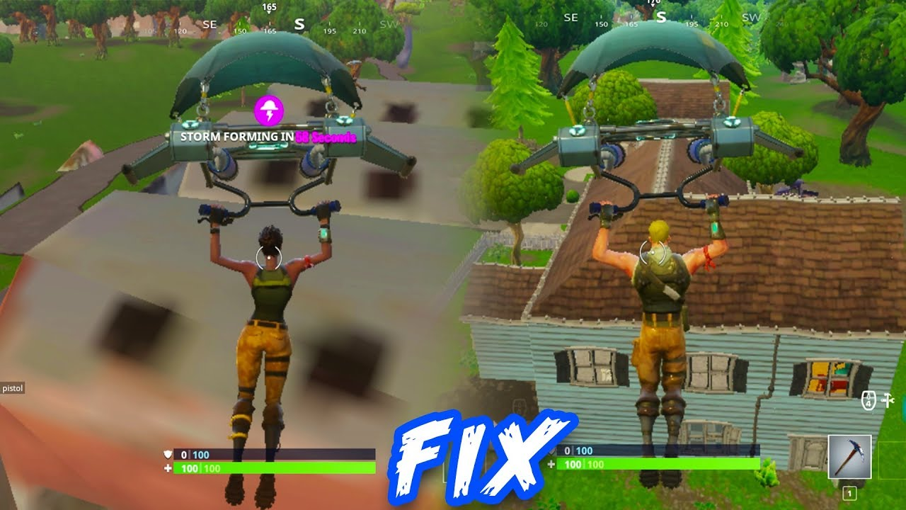 Fortnite Gameplay Graphics Fix l Graphics Not Loading Issue!!
