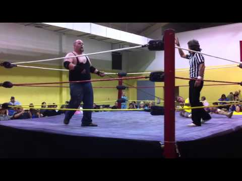 4/12/14 Jamie Holmes vs Lobo in a Bullrope Match