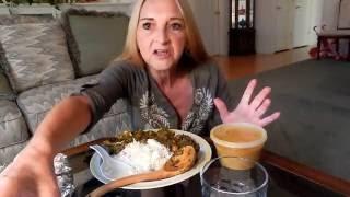 indian food mukbang eating show vegan plant based vegan mama mi