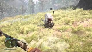 Far Cry Primal: my pet wolf VS jaguar!
