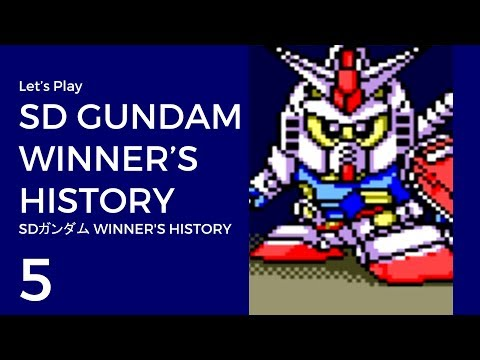 Let's Play SD Gundam: Winner's History #5 | Map 8: Central Asia [Neo-Zion]