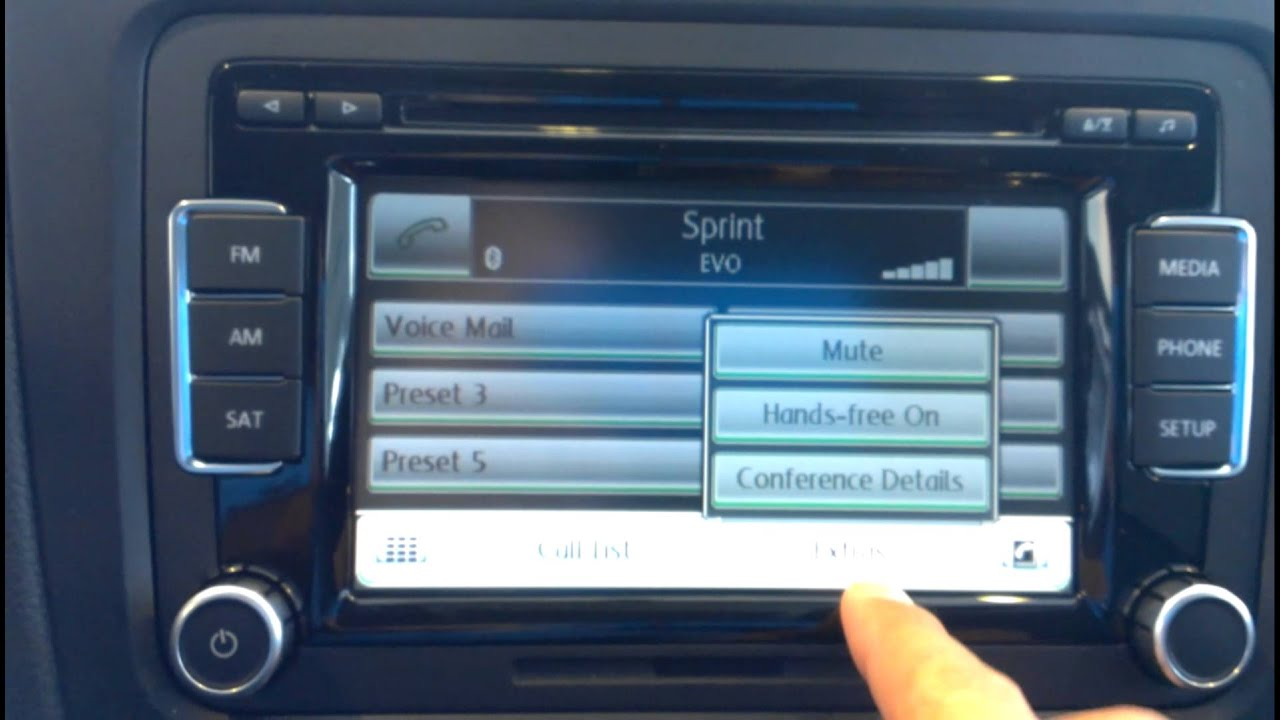 how to operate the vw bluetooth system youtube rh youtube com Bluetooth WV VW Bluetooth Compatibility List