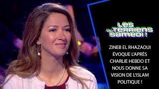 Zineb El Rhazaoui évoque l'après Charlie Hebdo et nous donne sa vision de l'Islam politique ! - LTS