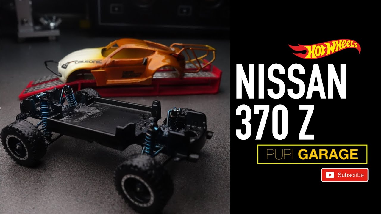 The Nissan 370Z Off-road Theme