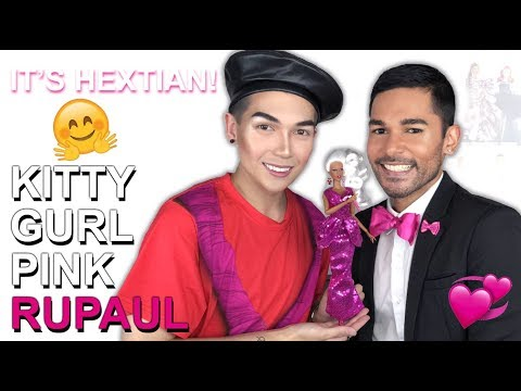KITTY GURL PINK RuPaul Doll - Integrity Toys - Review Feat. HeXtian!
