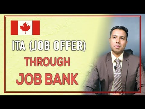 Canada PR:Received ITA(JOB OFFER) Through Job Bank Canada-Some Tips And Tricks