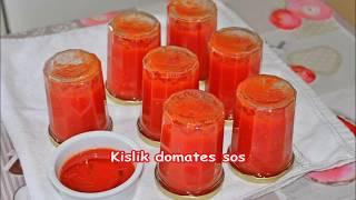 Kışlık muhteşem domates sos tarifi herşeye kullanılır kahvaltiya yemeklere