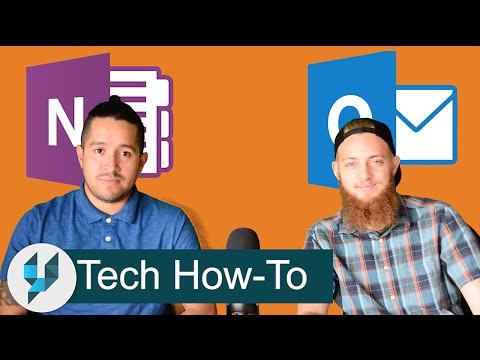 Increase Productivity & Organization with Microsoft OneNote / Outlook