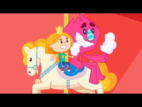 Катя и Эф. Куда-угодно-дверь - Адрес сказок - Развивающий мультфильм для детей