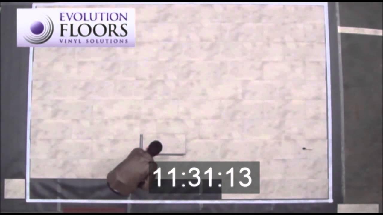 Evolution Floors Video Easy Floors Lamas Vinilo Auto