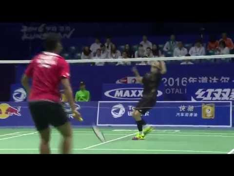 TOTAL BWF Thomas & Uber Cup Finals 2016 | Badminton Day 1/S3-Thomas Cup Grp B- INA vs HKG (Court 2)