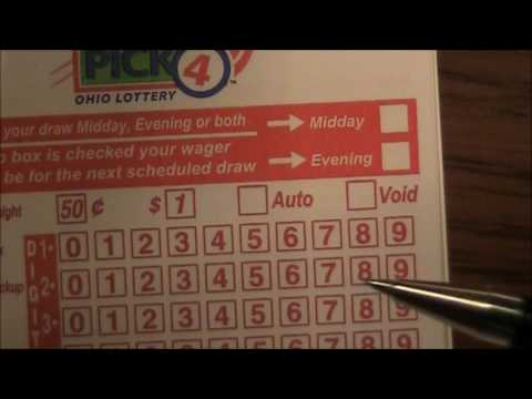 How To Fill Out Lottery Bet Slips Tickets Youtube