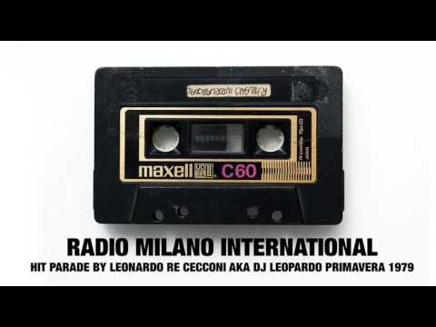 Radio Milano International Hit parade DJ Leopardo, primavera 1979