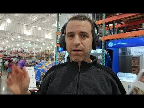 Sony H900N Hi Res Noise Cancelling Wireless Headphones Test At The Store