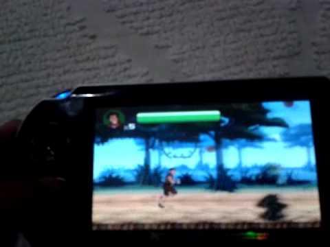 consola de videojuegos tipo psp