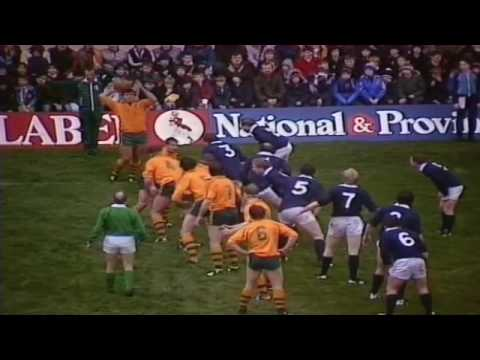 Scotland v Wallabies Highlights (1984 Grand Slam)