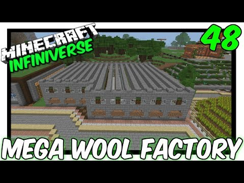 """The Sheep Factory"" [48] Minecraft Bedrock Infiniverse"